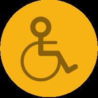 Accesso per disabili